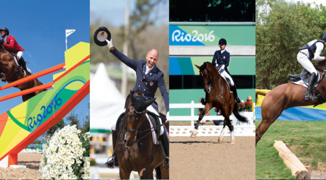 U.S. Equestrian Team Secures Multiple Medals At Rio Olympics