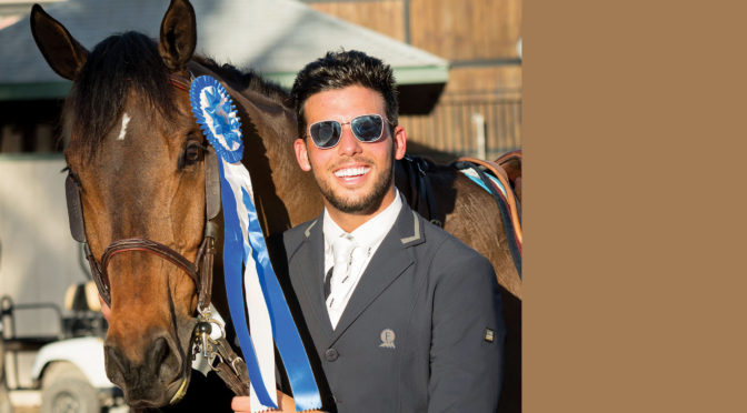 Venezuelan Show Jumping Star Emanuel Andrade Feels At Home In Show Ring