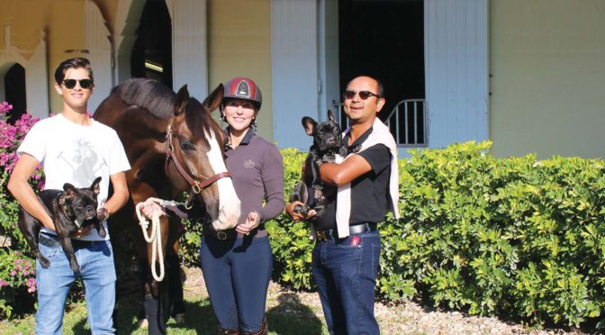 A Mutual Love Of Horses Brings  The Dutta Family Together