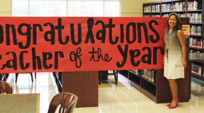Wellington's Dr. Evangeline Aguirre Honored As Teacher Of The Year