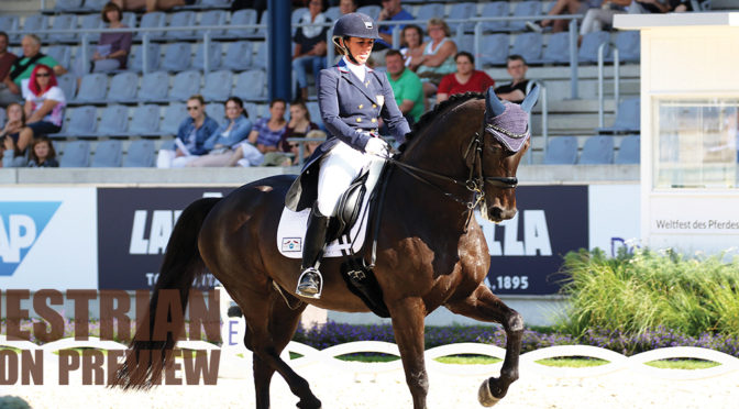 Busy Year Ahead For Dressage Star  Kasey Perry-Glass