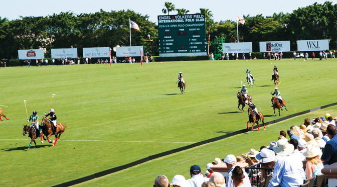 INTERNATIONAL POLO CLUB Welcomes Eyes Of The Polo World With Start Of 2018 High-Goal Season
