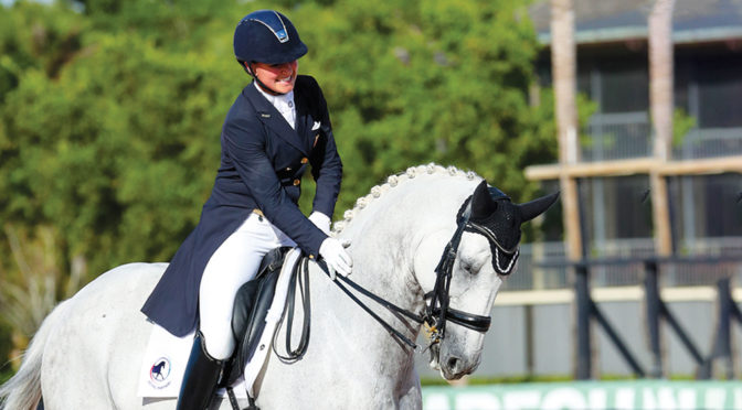 Top Dressage Competitor Adrienne Lyle Enjoys Her Horse-Centered Life