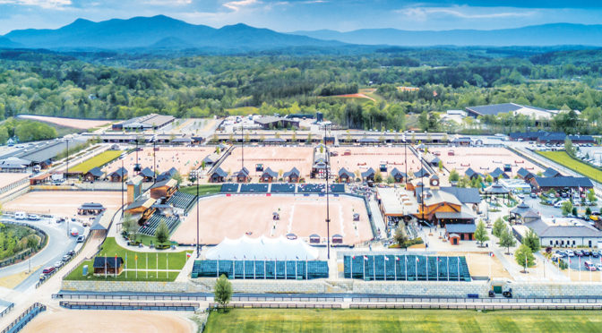 Tryon International Equestrian Center Gearing Up To Host 2018 World Equestrian Games