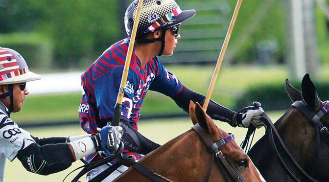 Young Horseman Timmy Dutta  Knows Polo Is His Passion