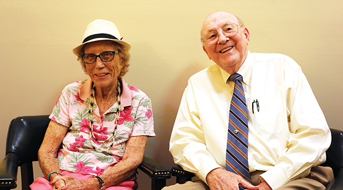 Wellington Community Foundation Honors In Ken And Arle Adams Naming New Scholarship