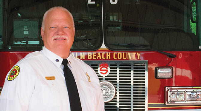 Firefighter Bob Dawson Counts On Support Of His 'Two Families'
