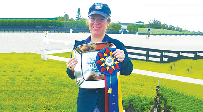 The Power of Positivity Eleanor Brimmer Embraces  Life As A Para-Equestrian