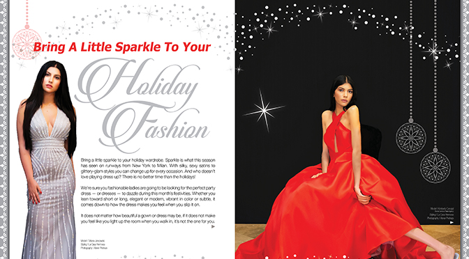 Bring A Little Sparkle To Your Holiday Fashion