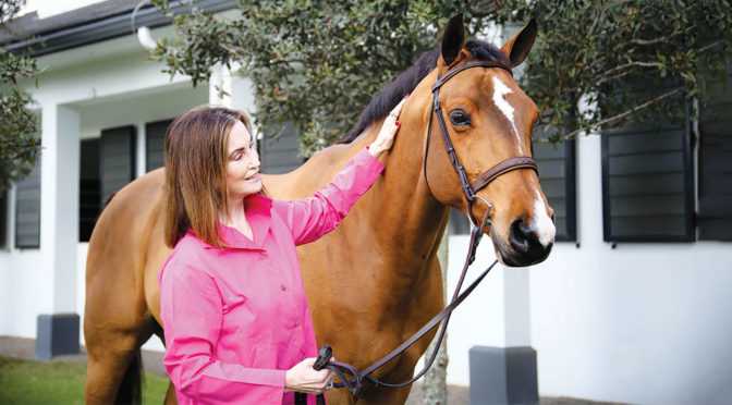 Celebrated Equestrian Susie Humes Launches 'The Winning Edge'