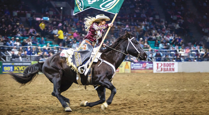 Miss Rodeo Florida Cara Spirazza Got Her Start In The Wellington Area