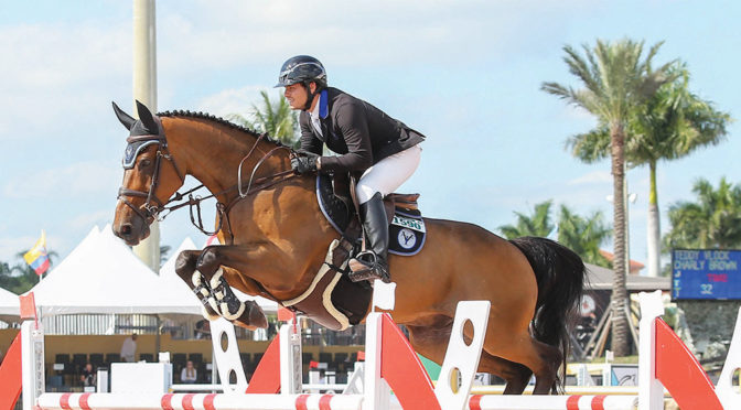 Teddy Vlock Balances Schoolwork, Training & Moving Up In The Horse World