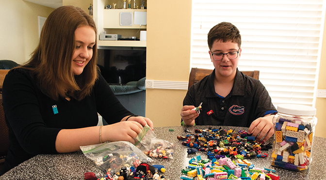 Bricks Busting Boredom Uses A Ubiquitous Toy To Help Kids In Need Lego Love