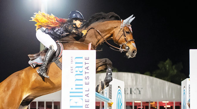 PBIEC Welcomes Back Top-Level Competition  For 2020 Winter Equestrian Festival  Jumping Action