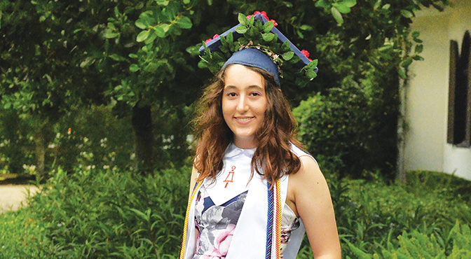 Wellington's Juliana Wandell Graduates From FAU With A Double Major At Age 17 College Grad
