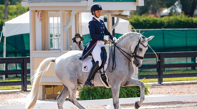 Faces of Dressage – Adrienne Lyle