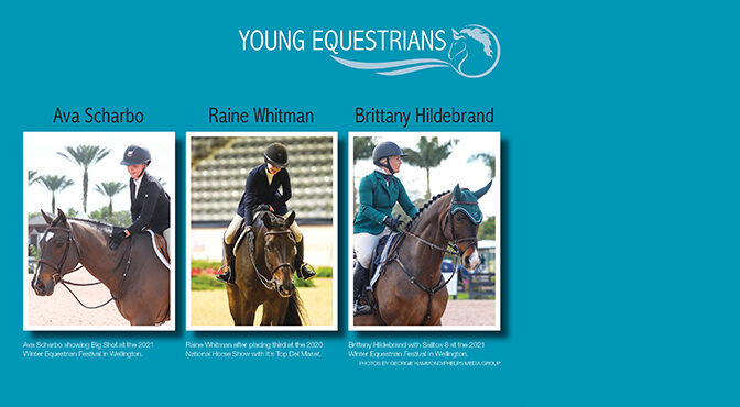 Young Equestrians Take Challenges In Stride As They Progress In Their Careers