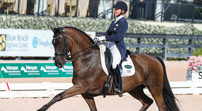 Faces of Dressage – Katherine Bateson-Chandler