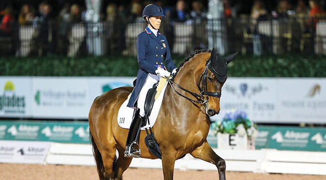 Faces of Dressage – Olivia LaGoy-Weltz