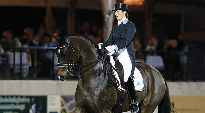 World-Famous Dressage Olympian Tinne Vilhelmson Silfvén Enjoys Her Winters Competing In Wellington