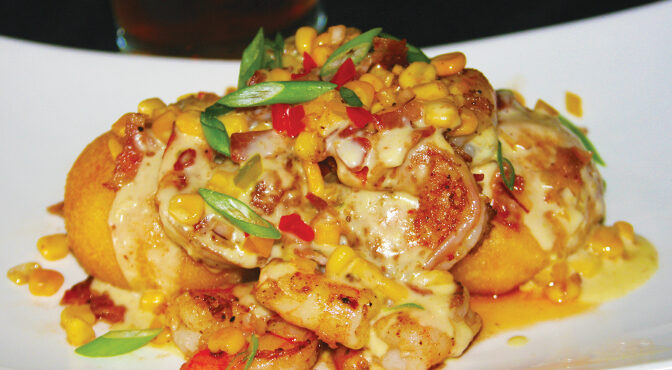 Southern-Style Shrimp And Grits A Must-Try New Dish At DeVine Bistro