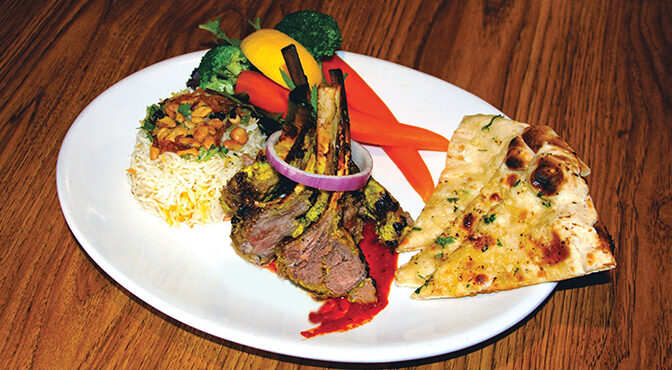 Authentic Flavors Make Tender Rack Of Lamb Stand Out At Raja Indian Cuisine & Bar