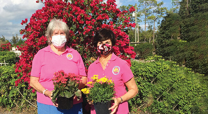 Wellington Garden Club Helps Make  The Community A More Beautiful Place