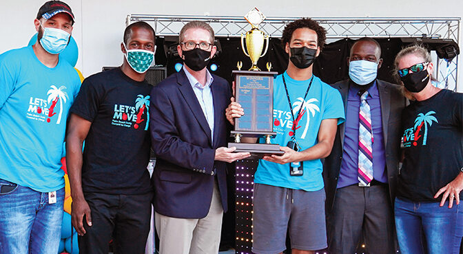 WELLINGTON'S WINNING MOVES  The Village Has Taken Home Its Third Let's Move Championship From The Palm Health Foundation