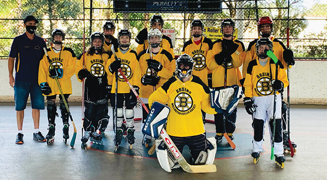 WRHA Rules The Rink In Wellington Wellington Roller Hockey Association's Fall Season Gets Underway This Month