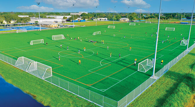 Sports Complex A Win-Win Unique Partnership Leads To The Creation Of A New Sports Complex At Wellington High School